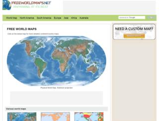 theworldatlas.net screenshot