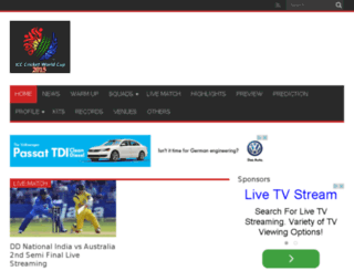 theworldcup2015.com screenshot