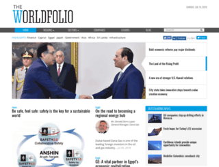 theworldfolio.com screenshot