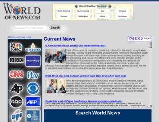 theworldofnews.com screenshot