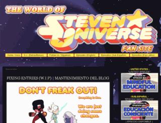 theworldofstevenuniverse.blogspot.mx screenshot