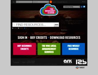 theworshipcloud.com screenshot