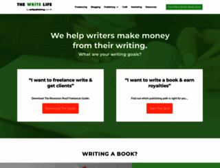 thewritelife.com screenshot