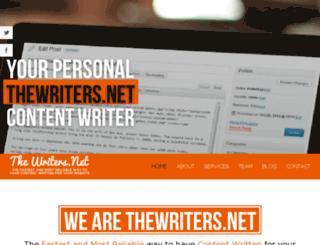 thewriters.net screenshot