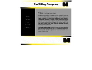 thewritingcompanyethiopia.com screenshot