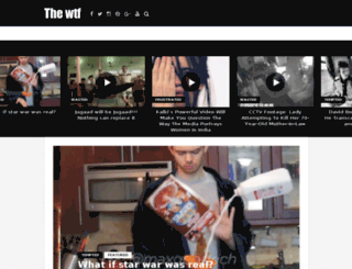 thewtfofficial.com screenshot