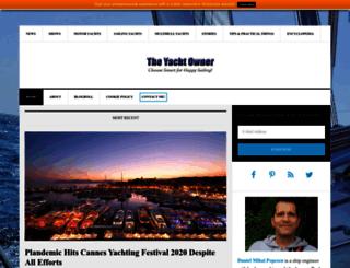 theyachtowner.net screenshot
