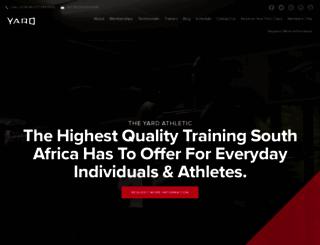 theyardathletic.com screenshot