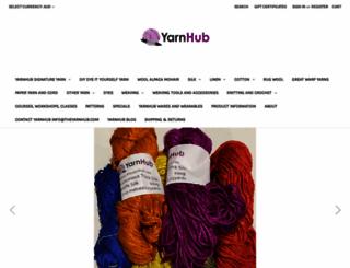 theyarnhub.com screenshot