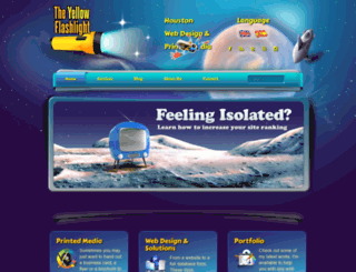 theyellowflashlight.com screenshot