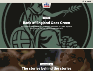theyesmen.org screenshot