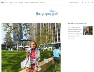 theyoopergirl.com screenshot