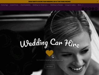 theyorkshireweddingcarcompany.com screenshot