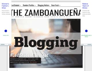 thezamboanguena.com screenshot