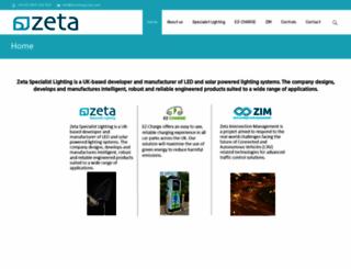thezetagroup.com screenshot