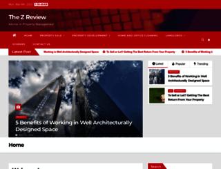 thezreview.co.uk screenshot