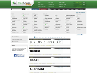 thfonts.com screenshot