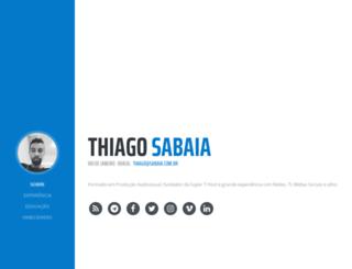 thiagosabaia.net screenshot