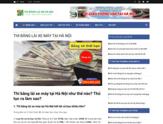 thibanglaixehn.com screenshot