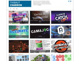 thibaut-charron.com screenshot