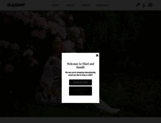 thiefandbandit.com screenshot
