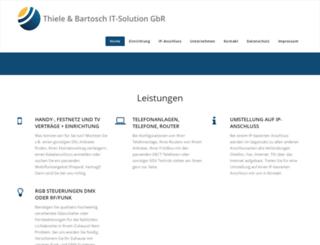 thiele-solution.de screenshot