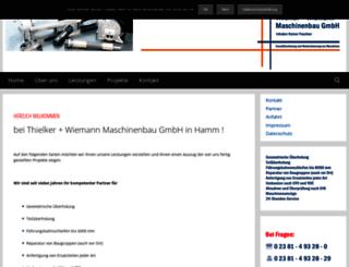 thielker-wiemann.de screenshot