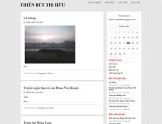 thienbutthihuu.vnweblogs.com screenshot