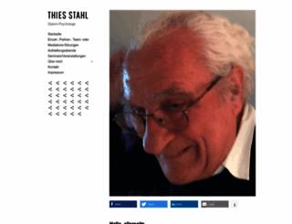 thiesstahl.de screenshot