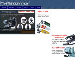 thietbinganhmay.besaba.com screenshot
