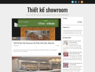 thietkeshowroom365.blogspot.com screenshot