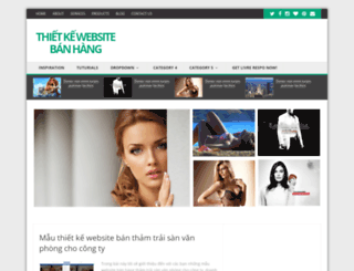 thietkewebsitebanhang.dep.asia screenshot