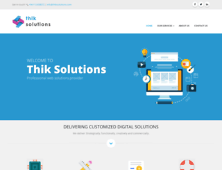 thiksolutions.com screenshot