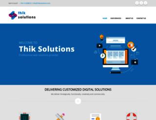 thiksolutions.com screenshot