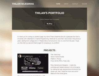 thilanwij.weebly.com screenshot