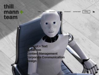 thillmannundteam.de screenshot