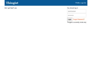thingist.com screenshot