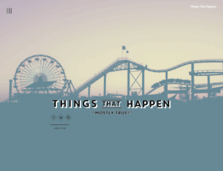 thingsthathappen.com screenshot
