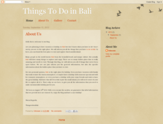 thingstodobali.blogspot.com screenshot