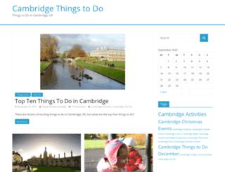 thingstodoincambridge.bestcambridge.org screenshot