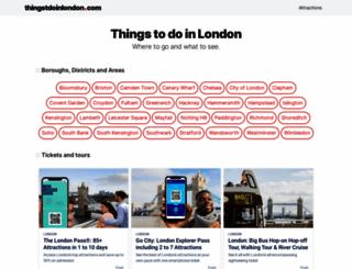 thingstodoinlondon.com screenshot