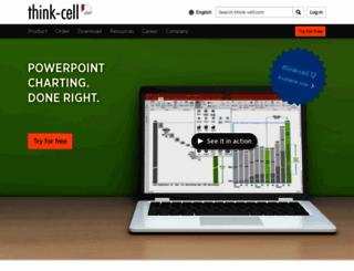 think-cell.com screenshot