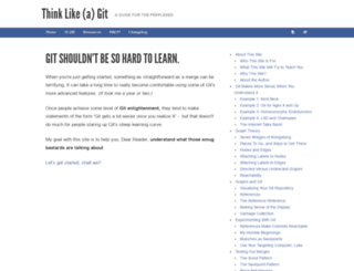 think-like-a-git.net screenshot