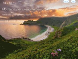 think-neutopia.herokuapp.com screenshot