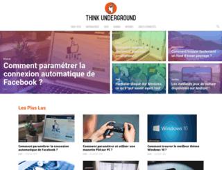 think-underground.com screenshot
