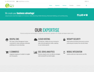 thinkact.com.hk screenshot