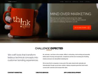 thinkagency.com screenshot