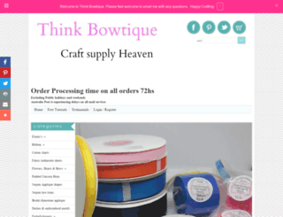 thinkbowtique.com screenshot
