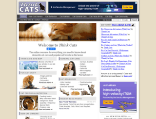 thinkcats.com screenshot