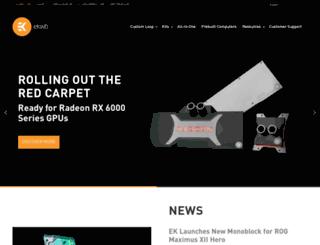 thinkcell.ekwb.com screenshot